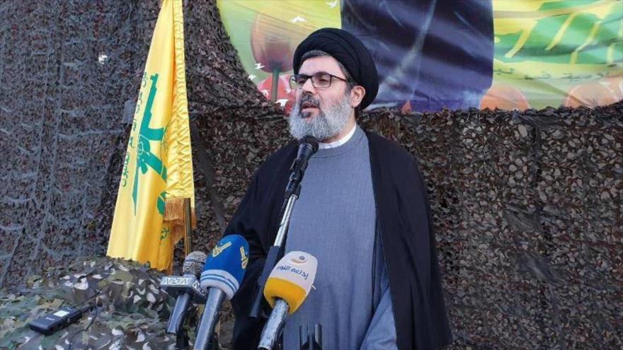 El jefe del Consejo Ejecutivo del Movimiento de Resistencia Islámica de El Líbano (Hezbolá), Seyed Hashem Safi al-Din.