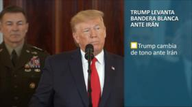PoliMedios: Trump levanta bandera blanca ante Irán