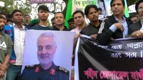 Miles de bangladesíes repudian asesinato de Soleimani por EEUU