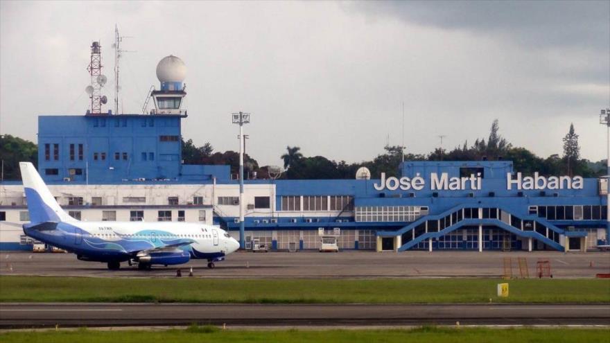 El aeropuerto José Martí de La Habana (capital cubana).