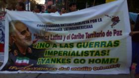Peruanos condenan imperialismo de EEUU y asesinato de Soleimani