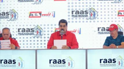 Maduro pide al pueblo unidad para contrarrestar agresión de EEUU