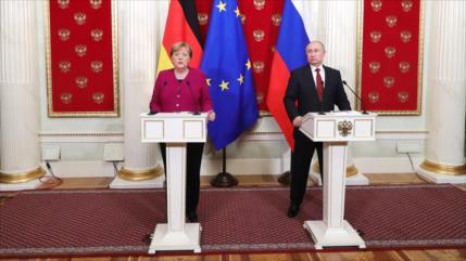 Rusia y Alemania subrayan necesidad de preservar el pacto nuclear