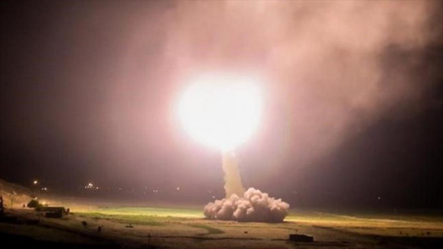 Irán ataca con misiles bases de EE.UU. en Irak, 8 de enero de 2020.