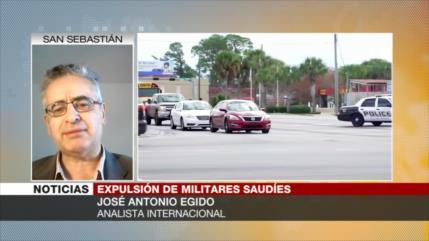 Egido: EEUU expulsa a militares saudíes pero no abandona sus intereses