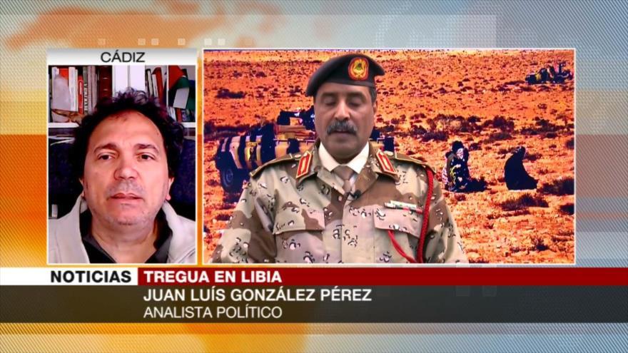 González Pérez: Tregua ayuda a Libia a volver a ser un país unificado
