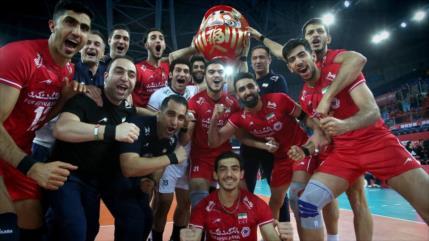 Equipo de voleibol iraní se clasifica para los JJOO de Tokio 2020