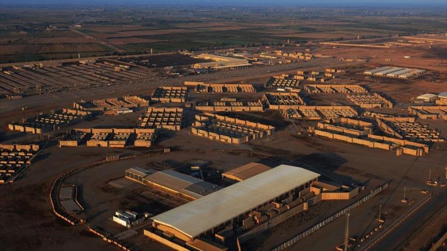 La base aérea de Balad, en la provincia central iraquí de Salah al-Din, que alberga a fuerzas de EE.UU.