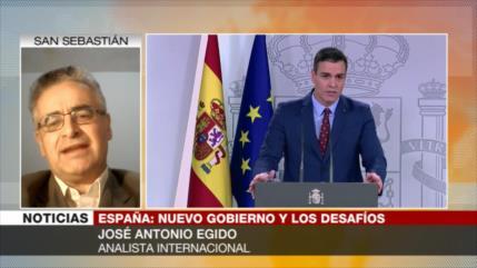 Egido: Derecha española buscará derribar al Gobierno de coalición