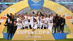 Real Madrid vence al Atlético y gana su 11.ª Supercopa de España