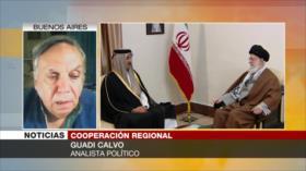 Calvo: Hay que poner fin a la influencia de EEUU en la región
