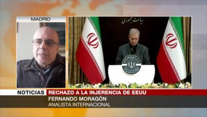 Moragón: Trump con sus comentarios busca dividir a los iraníes