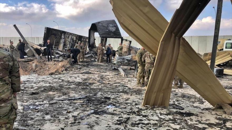 Militar danés revela severos daños del ataque iraní a base de EEUU   HISPANTV