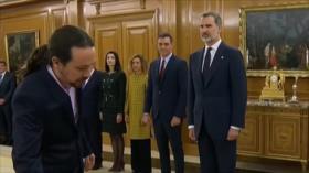 España: Nuevos ministros de PSOE y Unidas Podemos toman posesión