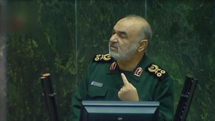 Discurso de Salami tras ataque de Irán a base de EEUU en Irak