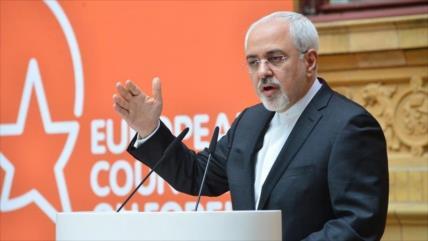 Zarif: Europa puede salvar pacto nuclear si se aleja del acosador