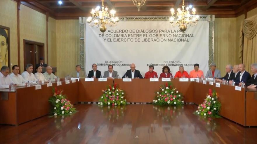 Gobierno colombiano y ELN abren una ventana para retomar diálogos