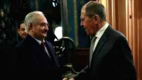 Haftar rechaza la firma de una tregua en Libia y abandona Moscú