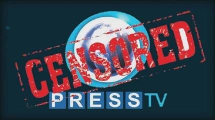 Youtube censura y elimina la cuenta de Press TV UK