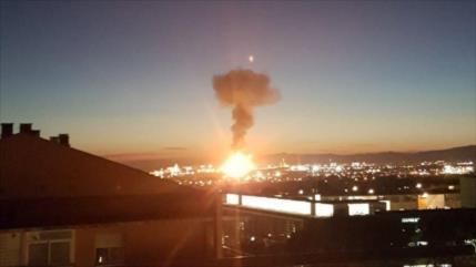 Explosión de planta química en España deja 1 muerto y 8 heridos