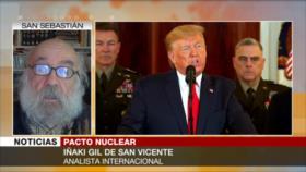 "Iñaki Gil: Europa activa medida ""negativa"" en pacto nuclear"