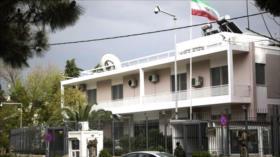 Irán advierte a Grecia sobre uso de sus bases militares por EEUU