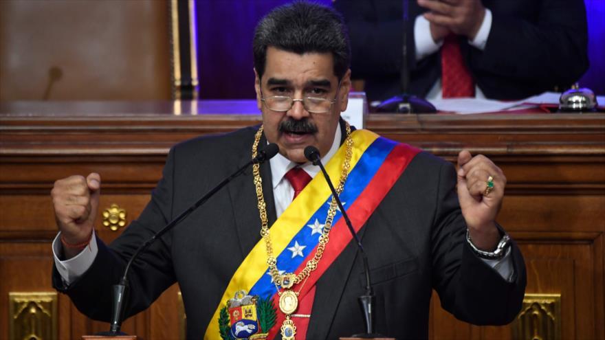 Maduro: 2019 fue año de triunfo ante agresiones imperiales de EEUU