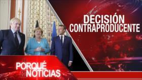 El porqué de las noticias: Pacto nuclear iraní. Juicio político a Trump. Venezuela contra imperialismo de EEUU