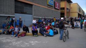 Miles de hondureños salen en nueva caravana hacia EEUU