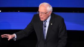 Sanders: Trump, con sus mentiras, empuja a EEUU a guerra con Irán