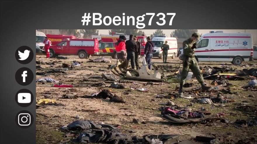 Etiquetaje: Irán lamenta derribo de avión ucraniano en plena tensión con EEUU