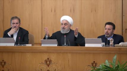 Rohani: Europa debe disculparse con Irán por su miedo a EEUU