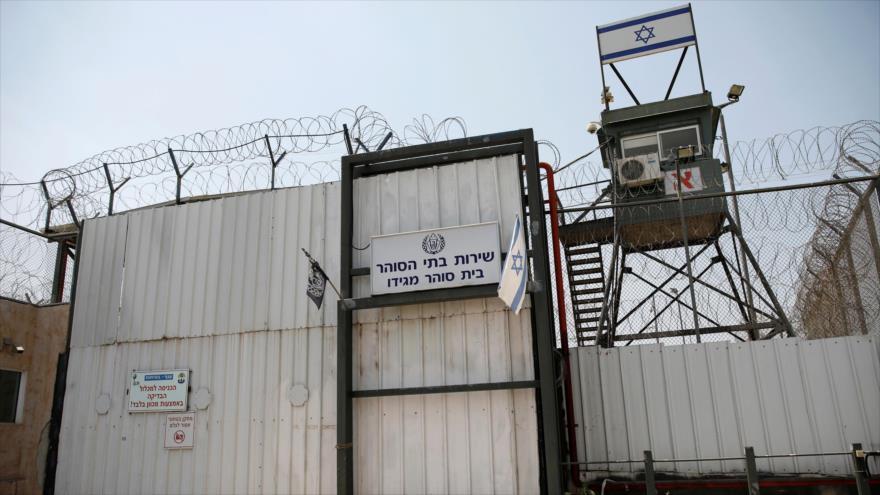 La prisión israelí de Megido, en el norte de los territorios ocpados palestinos, 24 de julio de 2019.