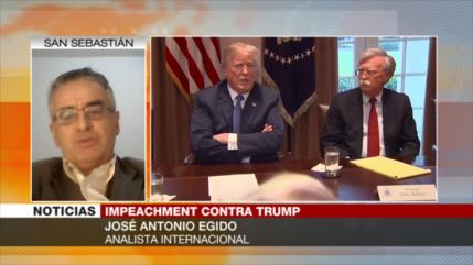 Egido: Los tuits de Trump delatan su inquietud por el impeachment