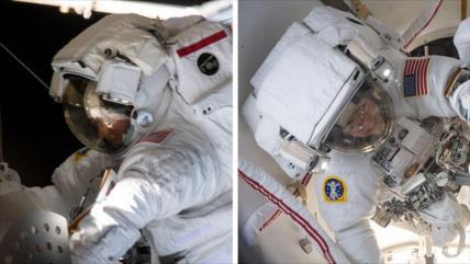 Vídeo: Dos mujeres realizan la primera caminata espacial del 2020