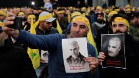 Hezbolá: Miles abrazan ideales de Soleimani y vengarán su muerte