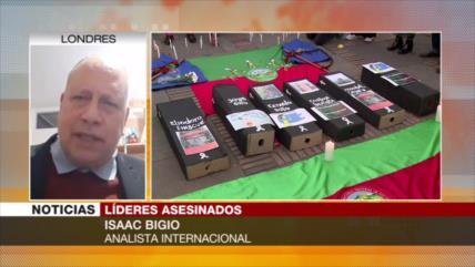 """""""Líderes sociales de Colombia son objeto de represión sistemática"""""""