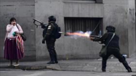 Bolivia permite usar armas letales contra manifestantes antigolpe