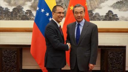 Venezuela y China retan a EEUU con su 'relación imperturbable'