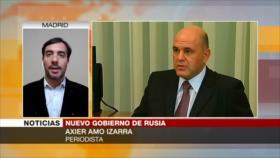 Amo Izarra: Cambio de primer ministro es un giro radical para Rusia