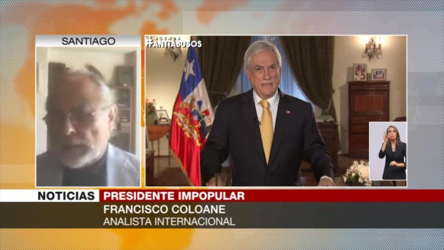 Coloane: Derecha chilena busca mantener la Constitución de la dictadura