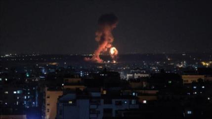 Helicóptero israelí lanza nuevos ataques contra la Franja de Gaza