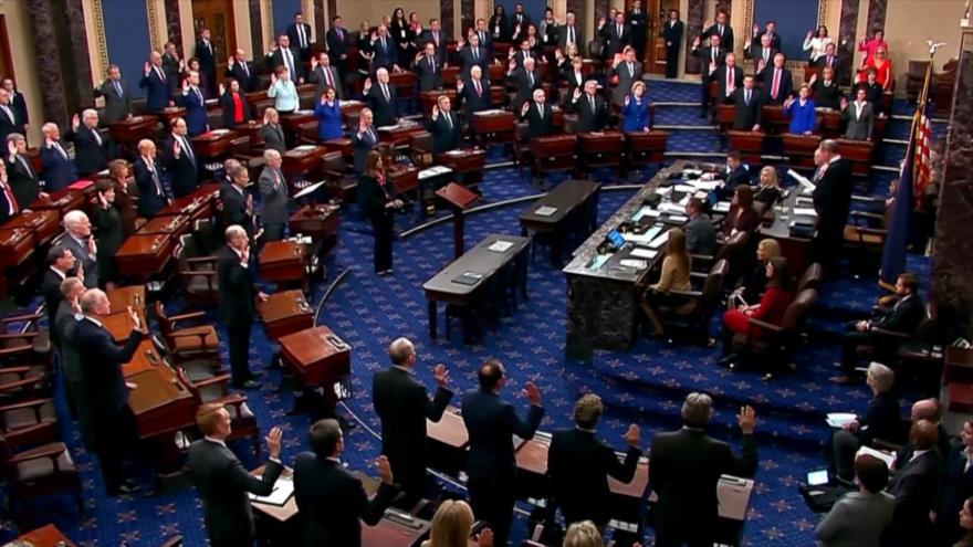 Senado de EEUU inicia formalmente el juicio político contra Trump