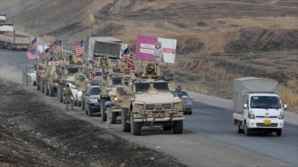 'EEUU despacha más de 70 camiones a zonas petroleras de Siria'