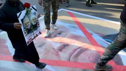 'Trump, conocido como salvador de EIIL tras asesinato de Soleimani'