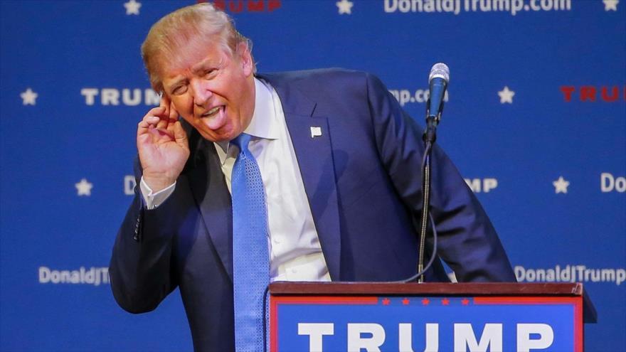 """Líder iraní: Trump, un payaso que quiere clavarnos """"daga venenosa"""""""