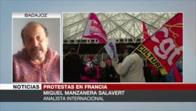 Salavert: Un capitalismo neoliberal generó protestas en Francia