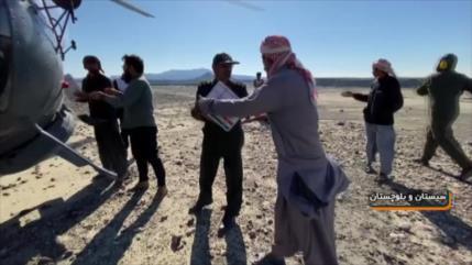Operaciones de rescate y ayuda siguen en Sistán y Baluchistán