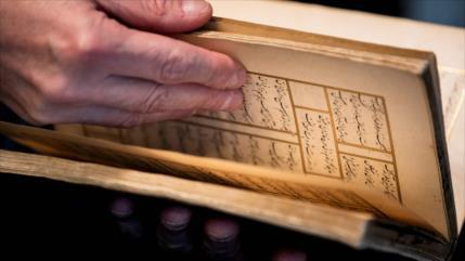 Encuentran libro de hace 500 años de un poeta persa en Ámsterdam