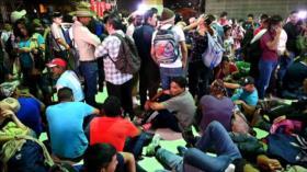 Una caravana de migrantes partió desde Honduras a fronteras de EEUU